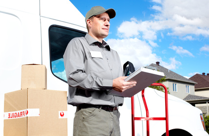 moving service man